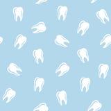 Teste padrão sem emenda dental do vetor Fotos de Stock