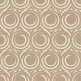 Teste padrão sem emenda do às bolinhas Círculos no quadrado Choque manual brushwork Textura do garrancho Imagens de Stock Royalty Free