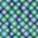 Teste padrão sem emenda do átomo ilustração do vetor