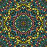 Teste padrão sem emenda do Arabesque Fotografia de Stock