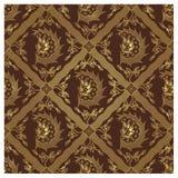 Teste padrão sem emenda do Batik do Javanese - única asa Fotografia de Stock Royalty Free