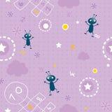 Teste padrão sem emenda do bebê Imagens de Stock Royalty Free