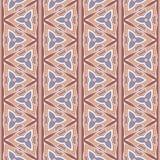 Teste padrão sem emenda do boho étnico Arte tribal, cópia geométrica, ornamento da beira Textura do fundo, envolvendo, papel de p Foto de Stock Royalty Free