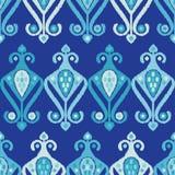 Teste padrão sem emenda do boho étnico Choque da mão Ornamento tradicional Fundo geométrico Motivo popular Fotos de Stock