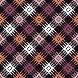 Teste padrão sem emenda do boho étnico Ornamento tradicional Fundo geométrico Teste padrão tribal Motivo popular Imagem de Stock