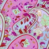 Teste padrão sem emenda do boho floral decorativo Imagem de Stock Royalty Free
