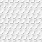 Teste padrão sem emenda do círculo Imagens de Stock Royalty Free
