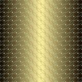 Teste padrão sem emenda do círculo geométrico abstrato Gráfico da forma Projeto do fundo textura à moda moderna Ilustração do vet Foto de Stock Royalty Free