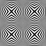 Teste padrão sem emenda do círculo geométrico abstrato Gráfico da forma Projeto do fundo textura à moda moderna Ilustração do vet Fotografia de Stock Royalty Free