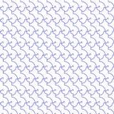 Teste padrão sem emenda do cacho ilustração do vetor
