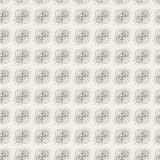 Teste padrão sem emenda do campo magnético ilustração stock