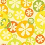 Teste padrão sem emenda do citrino Imagens de Stock