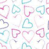 Teste padrão sem emenda do coração Imagem de Stock Royalty Free