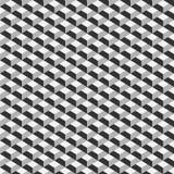Teste padrão sem emenda do cubo geométrico Projeto gráfico da forma Ilustração do vetor Projeto do fundo Ilusão ótica 3D À moda m Imagem de Stock Royalty Free