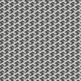 Teste padrão sem emenda do cubo geométrico Projeto gráfico da forma Ilustração do vetor Projeto do fundo Ilusão ótica 3D À moda m Imagens de Stock
