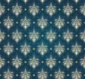 Teste padrão sem emenda do damasco ilustração royalty free