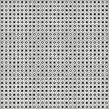 Teste padrão sem emenda do dedo do pé do tac do tique (nada e cruzes, Xs e ósmio) Fotografia de Stock Royalty Free
