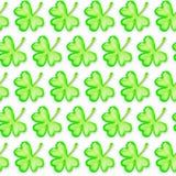 Teste padrão sem emenda do dia de St Patrick Fotografia de Stock
