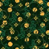 Teste padrão sem emenda do dia do St. Patrick Imagem de Stock Royalty Free