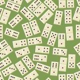 Teste padrão sem emenda do dominó Imagem de Stock