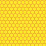 Teste padrão sem emenda do favo de mel Imagens de Stock Royalty Free