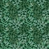Teste padrão sem emenda do feriado do Natal do vetor com ramos de árvore verdes ilustração royalty free