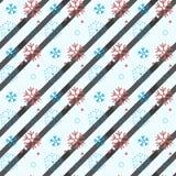 Teste padrão sem emenda do floco de neve Neve no fundo branco Papel de parede abstrato, envolvendo a decoração inverno do símbolo ilustração royalty free