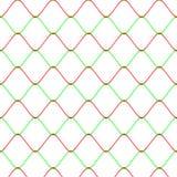 Teste padrão sem emenda do fundo da cerca da rede de Colot Rabitz ilustração stock