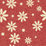 Teste padrão sem emenda do fundo da flor Foto de Stock
