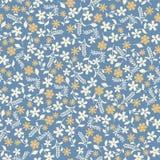 Teste padrão sem emenda do fundo da flor abstrata Imagens de Stock Royalty Free