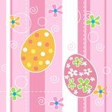 Teste padrão sem emenda do fundo de Easter Imagem de Stock Royalty Free