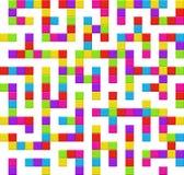 Teste padrão sem emenda do fundo do labirinto infinito Imagens de Stock Royalty Free