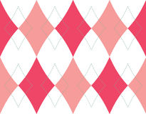 Teste padrão sem emenda do fundo do Rhombus Fotografia de Stock Royalty Free