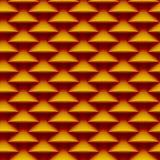 Teste padrão sem emenda do fundo feito de escalas estilizados nas cores mornas 106 Foto de Stock