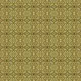 Teste padrão sem emenda do fundo do ouro abstrato 3d rendem o illustratio ilustração royalty free