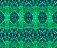 Teste padrão sem emenda do fundo verde Fotografia de Stock