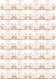 Teste padrão sem emenda do gato Ilustração Stock