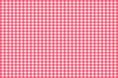 Teste padrão sem emenda do guingão vermelho Textura do rombo/quadrados para - a manta, toalhas de mesa, roupa, camisas, vestidos, ilustração do vetor
