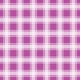 Teste padrão sem emenda do guingão violeta, ilustração do vetor Foto de Stock