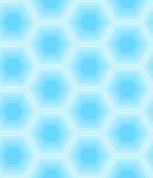 Teste padrão sem emenda do hexágono Imagens de Stock