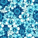 Teste padrão sem emenda do hibiscus floral da ressaca foto de stock royalty free
