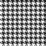 Teste padrão sem emenda do houndstooth. Fotos de Stock