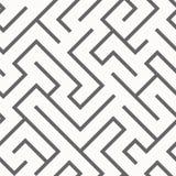 Teste padrão sem emenda do labirinto Fotografia de Stock