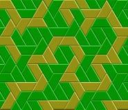 Teste padrão sem emenda do labirinto do vetor Fotografia de Stock Royalty Free
