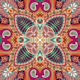 Teste padrão sem emenda do lenço de paisley da Índia, matéria têxtil decorativa, envolvendo, decoração Projeto boêmio Fotos de Stock Royalty Free