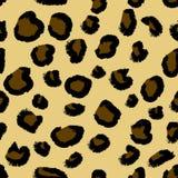 Teste padrão sem emenda do leopardo.