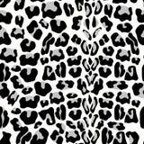 Teste padrão sem emenda do leopardo Cópia animal teste padrão com textura da pele do leopardo Repetindo o fundo da pele do leopar ilustração do vetor