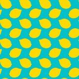 Teste padrão sem emenda do limão Imagem de Stock Royalty Free