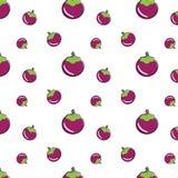 Teste padrão sem emenda do mangustão Imagens de Stock Royalty Free
