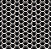 Teste padrão sem emenda do metal abstrato Foto de Stock